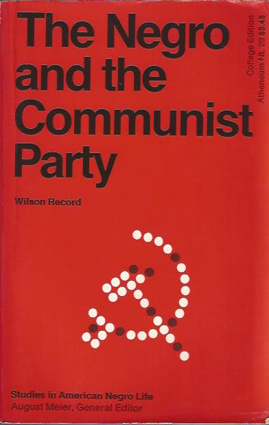 Image for The Negro and the Communist Party