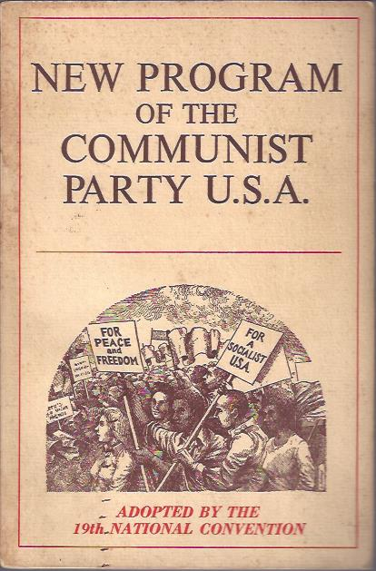 Image for New Program of the Communist Party U. S. A.