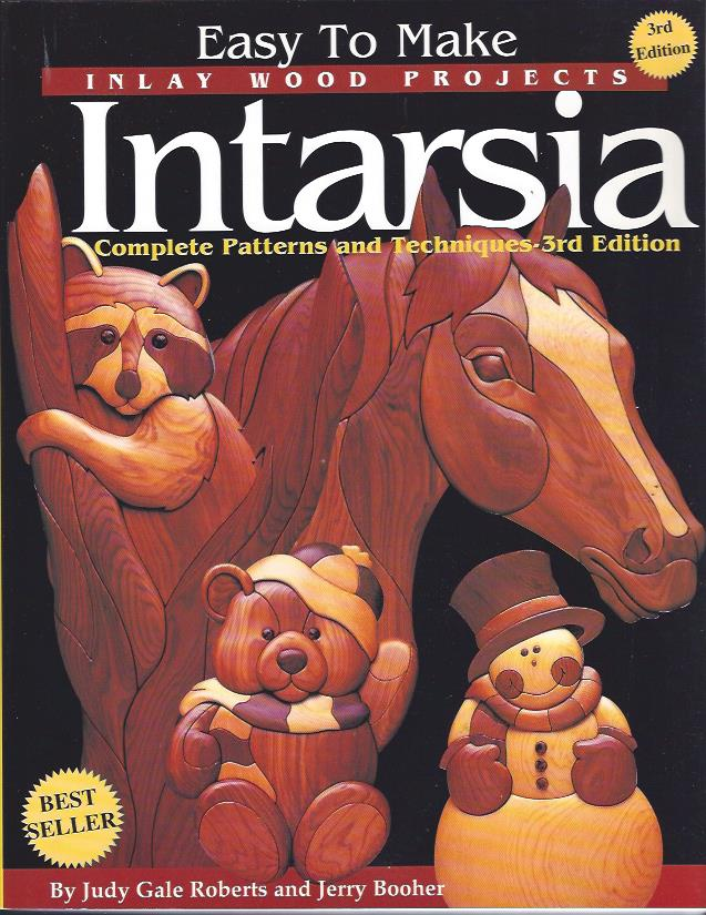 Image for Easy to Make Inlay Wood Projects Intarsia  : A Complete Manual with Patterns