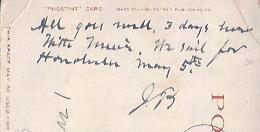 Image for Post Card, Written and Addressed by Burroughs and Initialed by Him