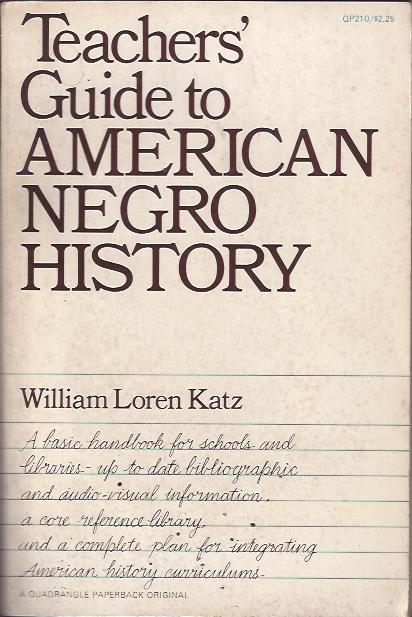 Image for Teachers' Guide to American Negro Histroy