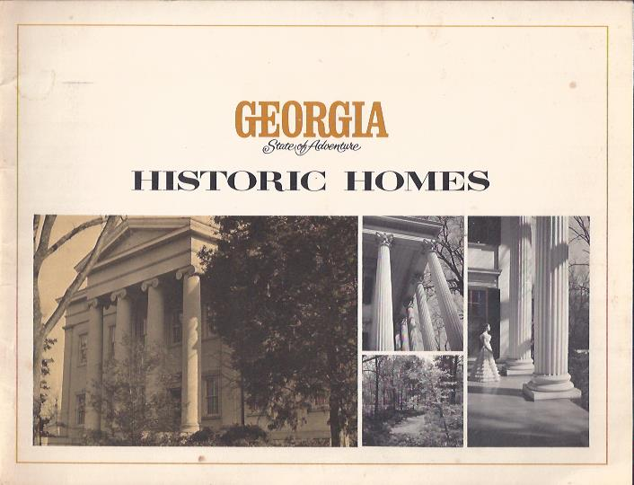Image for Georgia State of Adventure Historic Homes