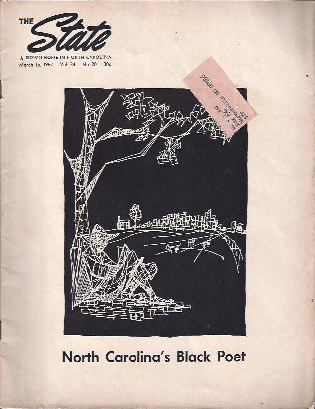 Image for The Black Poet The State: Down Home in North Carolina