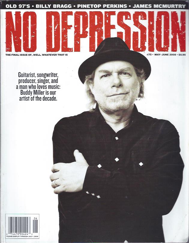 Image for No Depression, May-June 2008