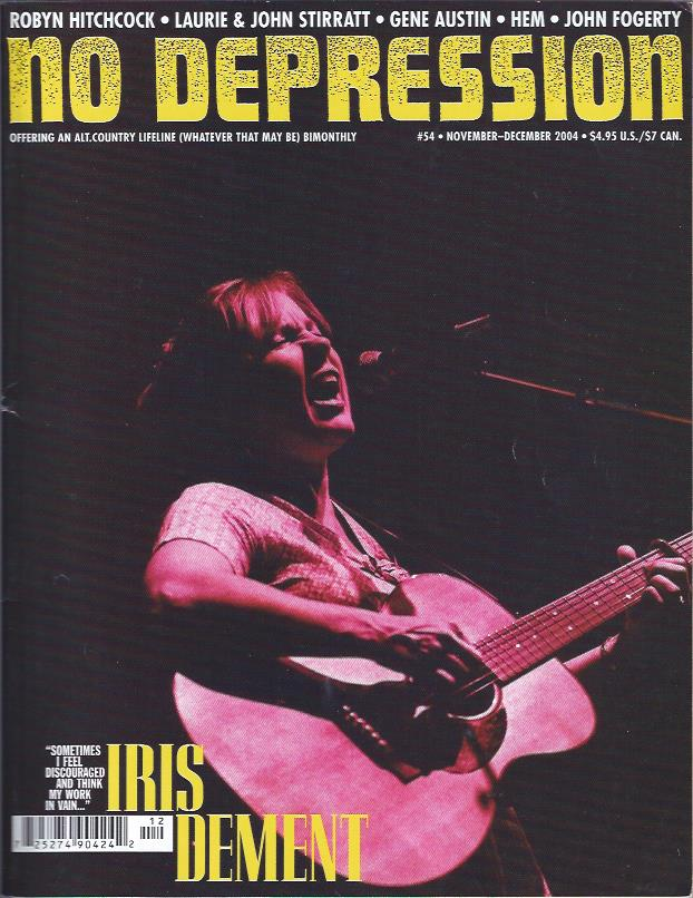 Image for No Depression, November-December 2004