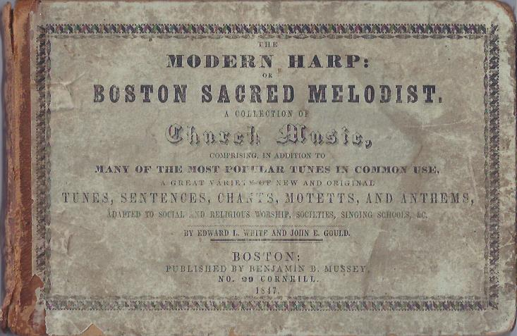 Image for The Modern Harp: A Collection of Church Music
