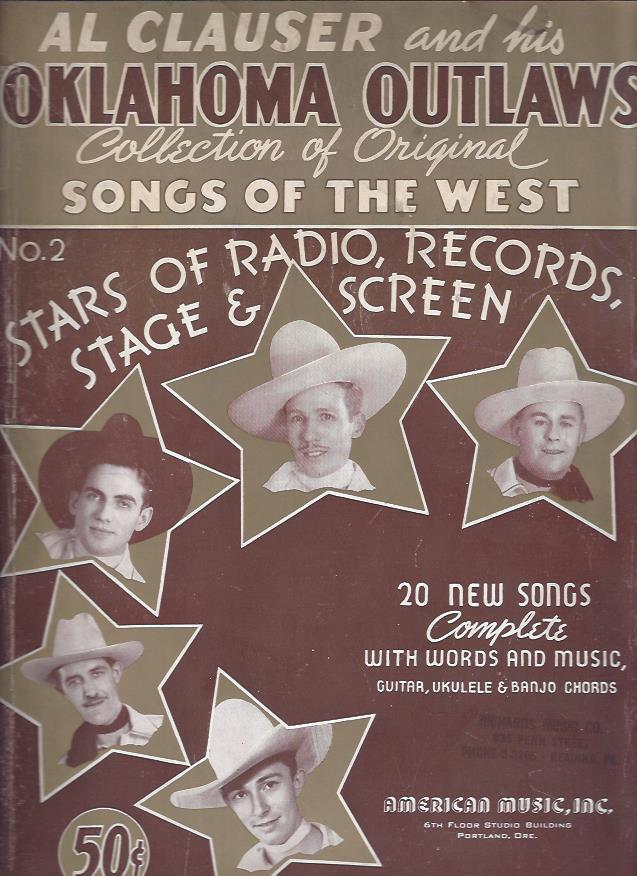 Image for Collection of Original Songs of the West