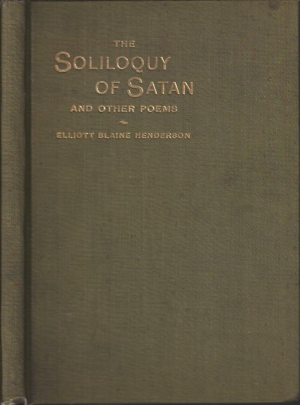 Image for The Soliloquy of Satan and Other Poems