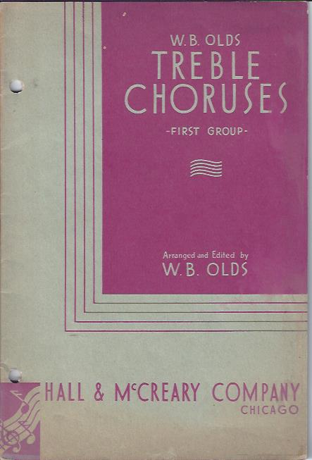 Image for Treble Choruses, First Group
