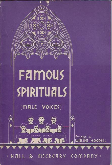 Image for Famous Spirituals (Male Voices)