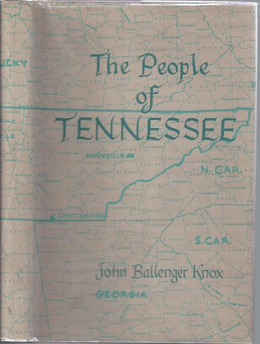 Image for The People of Tennessee : A Study of Population Trends