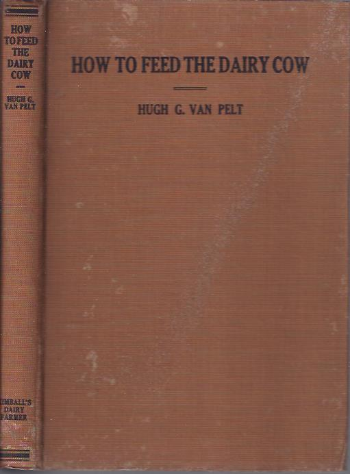 Image for How to Feed the Dairy Cow