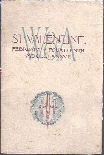 Image for Planting the Guns on Kennesaw (Cover Title: St. Valentine February Fourteenth 1887)
