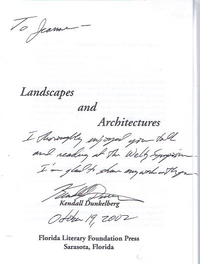 Image for Landscapes and Architectures