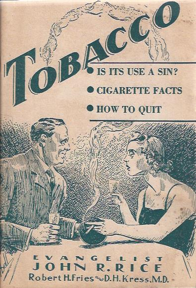 Image for Tobacco, is its Use a Sin?
