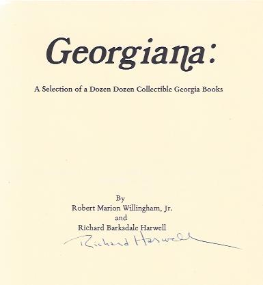 Image for Georgiana: a Selection of a Dozen Dozen Collectible Books