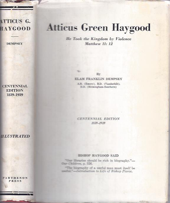 Image for Atticus Green Haygood