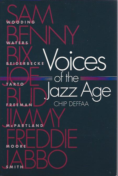 Image for Voices of the Jazz Age Profiles of Eight Vintage Jazzmen
