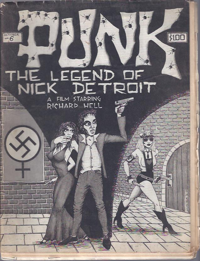 Image for Punk Magazine  The Legend of Nick Detroit
