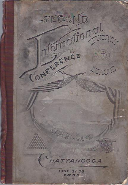 Image for Official Souvenir Program Second International Conference of the Epworth League, Chattanooga, Tenn.