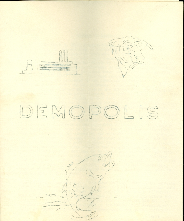 Image for Demopolis Alabama Tourist Pamphlets 1959