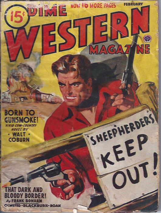Image for Dime Western Magazine, February, 1945