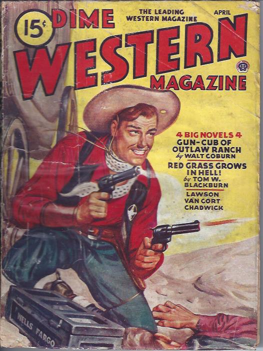 Image for Dime Western Magazine, April, 1946