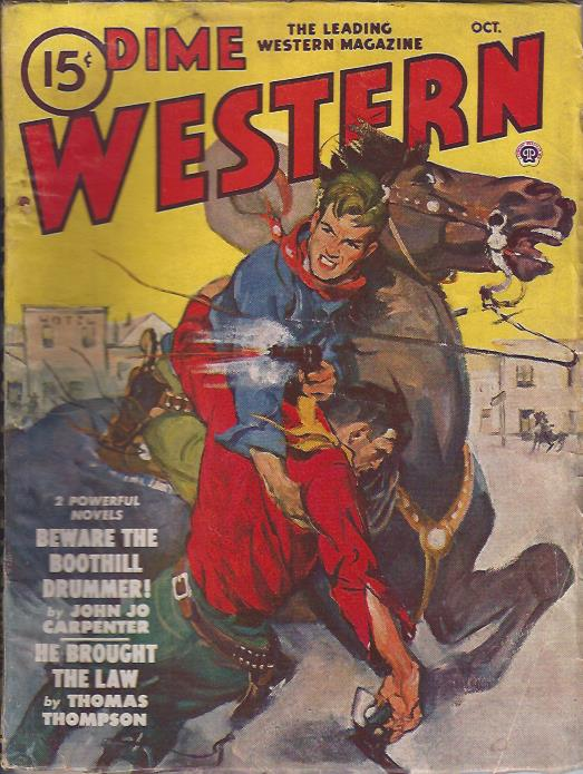 Image for Dime Western Magazine, October, 1948