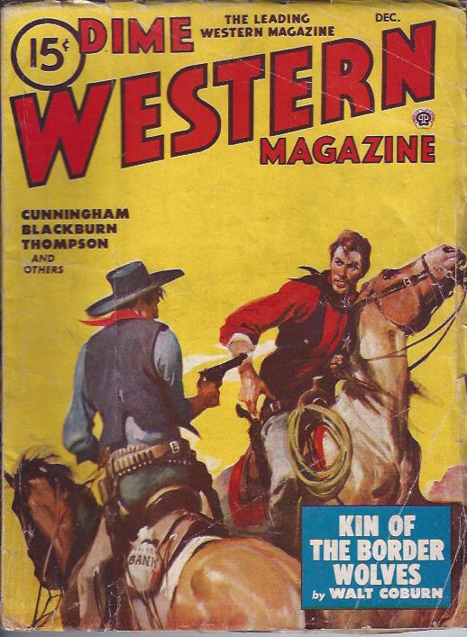 Image for Dime Western Magazine, December, 1948
