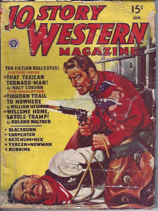 Image for 10 Story Western Magazine, January, 1947