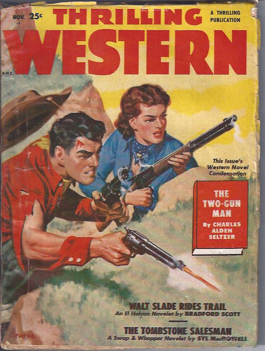 Image for Thrilling Western, November, 1950