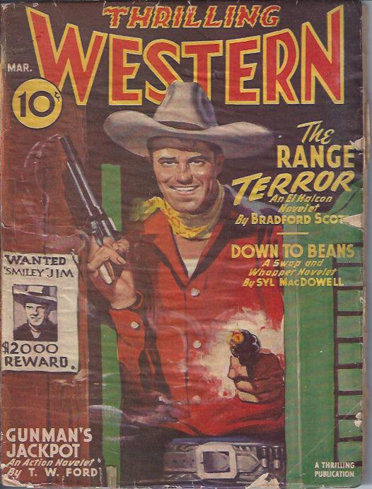 Image for Thrilling Western, March, 1946