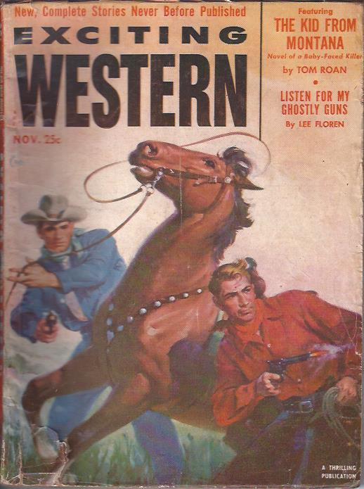 Image for Exciting Western, November, 1952