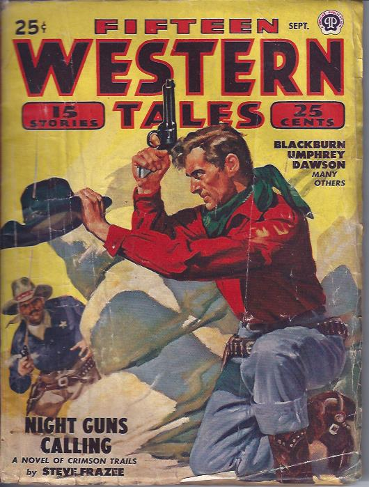 Image for Fifteen Western Tales, September, 1948