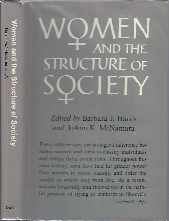 Image for Women and the Structure of Society