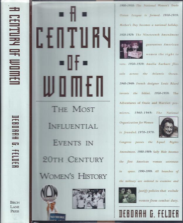 Image for A Century of Women: The Most influential Events in 20th Century Women's History
