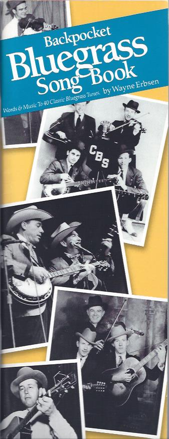 Image for Backpocket Bluegrass Song Book