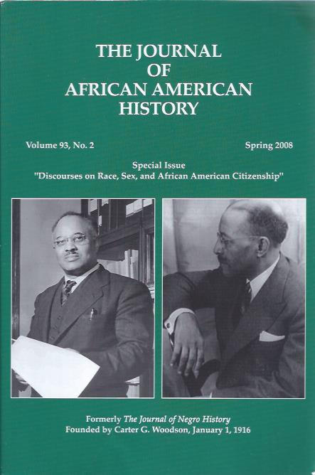 Image for The Journal of African American History, Spring 2008