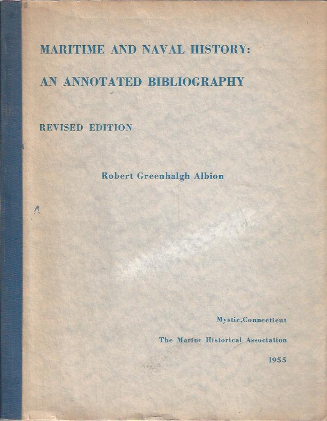 Image for Maritime Naval History: An Annotated Bibliography