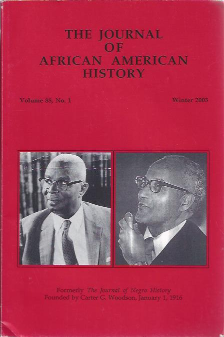 Image for The Journal of African American History, Winter 2003