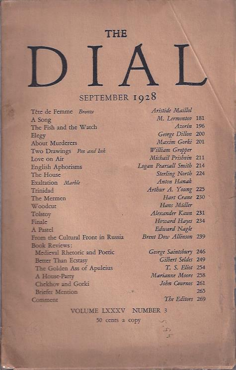 Image for The Dial,  September, 1928