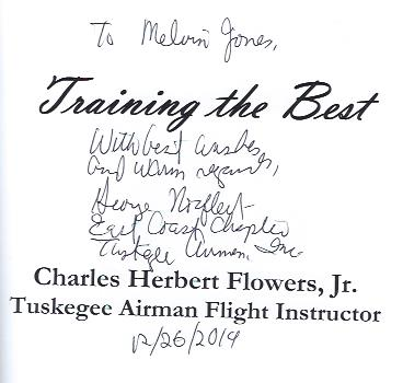 Image for Training the Best : Charles Herbert Flowers, Jr. Tuskegee Airmen Flight Instructor
