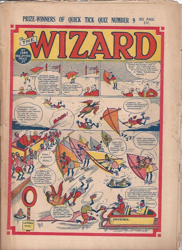 Image for The Wizard, December 17, 1949