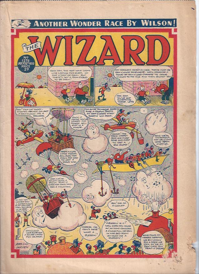 Image for The Wizard, July 22, 1950