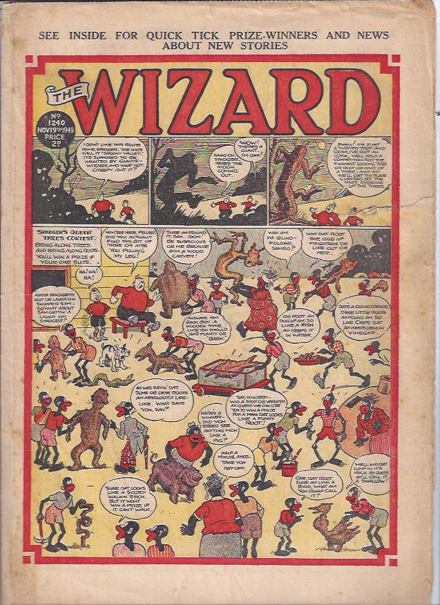 Image for The Wizard, November 19, 1949