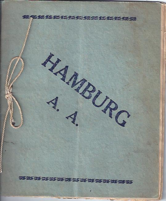 Image for Hamburg Athletic Association Program, January 20, 1912