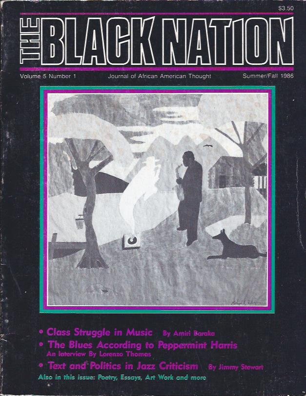 Image for The Black Nation : Journal of African American Thought, Summer/Fall, 1986