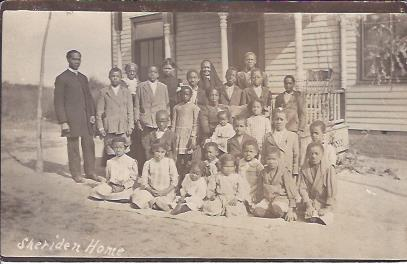 Image for Post Card, Sheriden Home, African-American