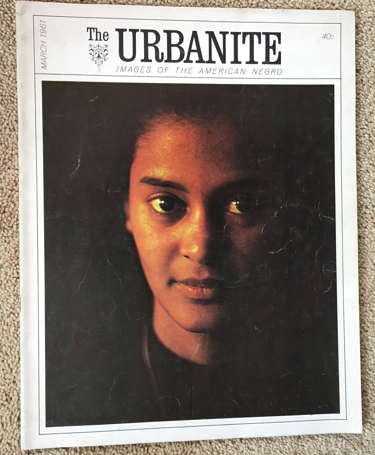 Image for The Urbanite, March,1961 Images of the American Negro