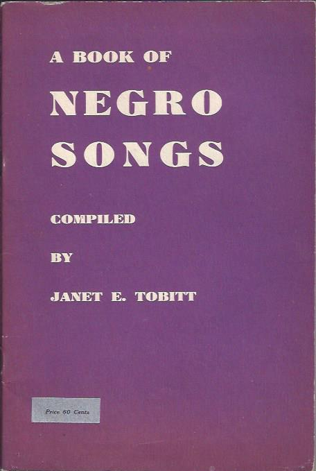 Image for A Book of Negro Songs